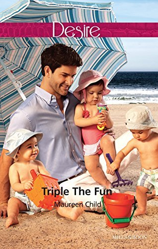 Triple The Fun (Billionaires and Babies Book 58) Maureen Child