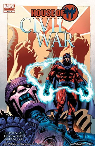 Civil War: House of M #1 (of 5)  by  Christos Gage