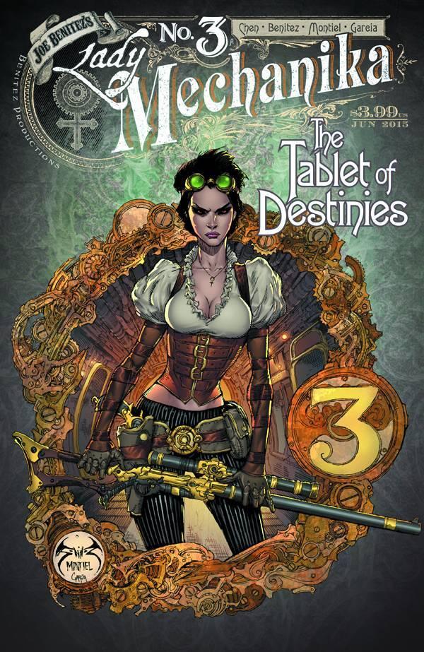 Lady Mechanika: The Tablet of Destinies #3  by  Joe Benitez