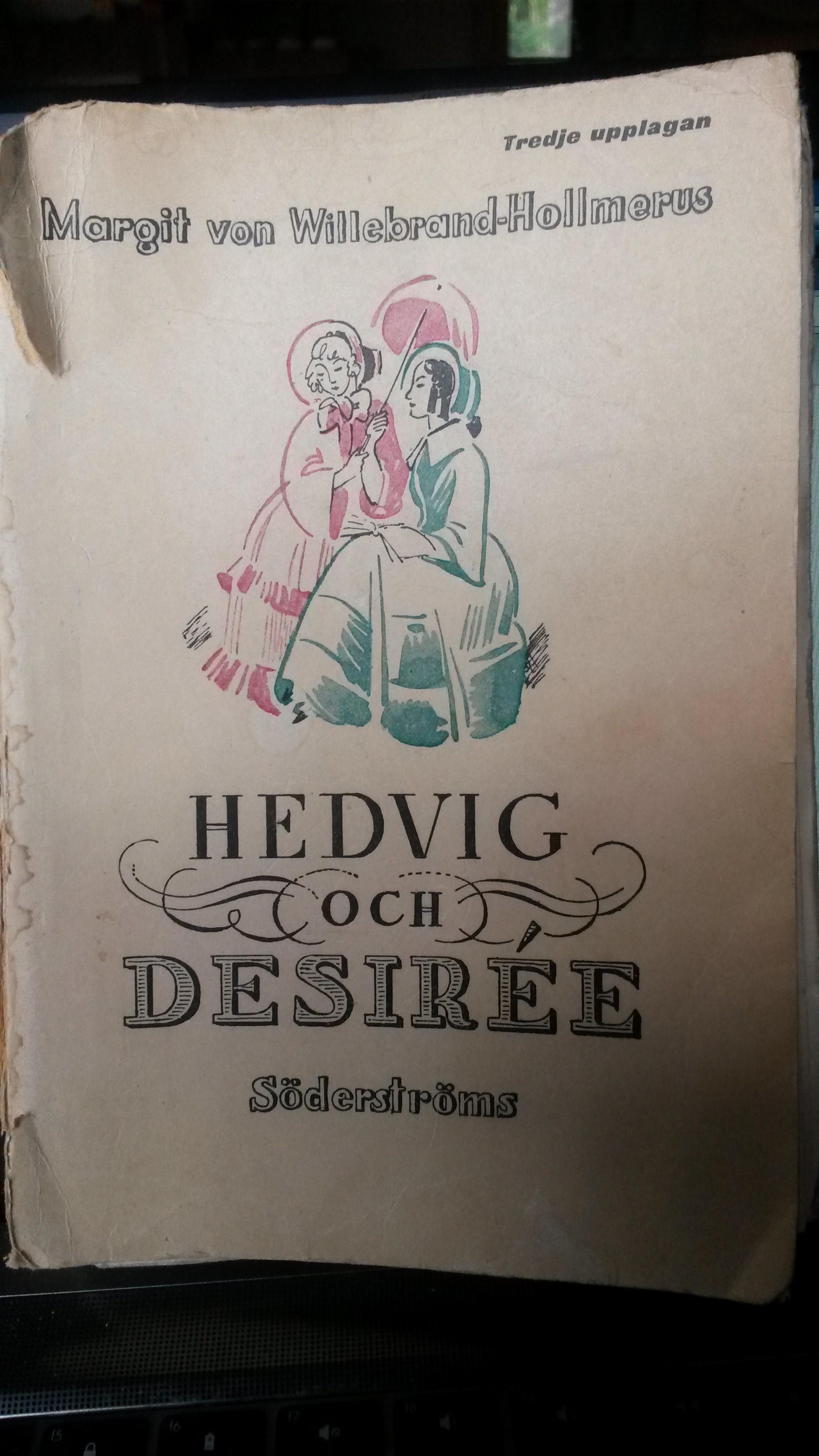 Hedvig och Desirée  by  Margit von Willebrand-Hollmerus