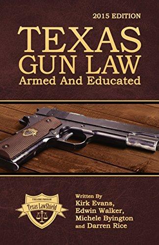 Texas Gun Law: Armed And Educated Kirk Evans