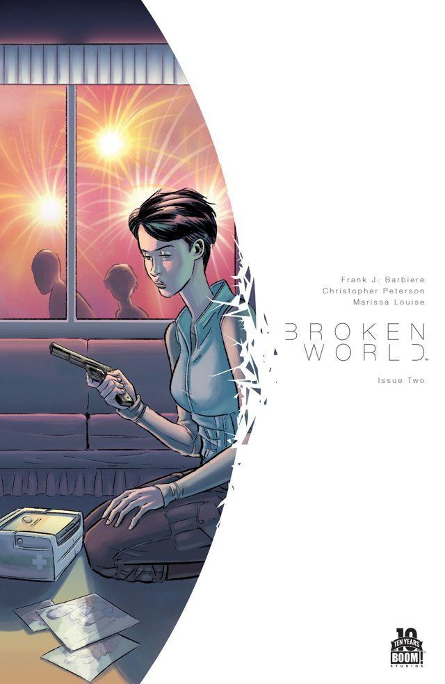 Broken World #2  by  Frank J. Barbiere