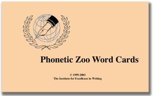 Phonetic Zoo: Lesson Cards Only Andrew Pudewa