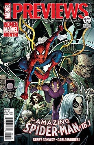 March 2015 Marvel Previews (Marvel Previews Vol. 1) Various