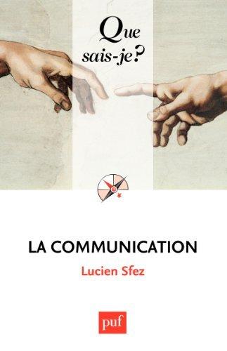 La communication Lucien Sfez