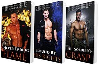 MENAGE ROMANCE: 3 BOOK! Men in Uniform Series: Bisexual: Romance: Threesome: Menage Romance  by  Aaliyah Branson
