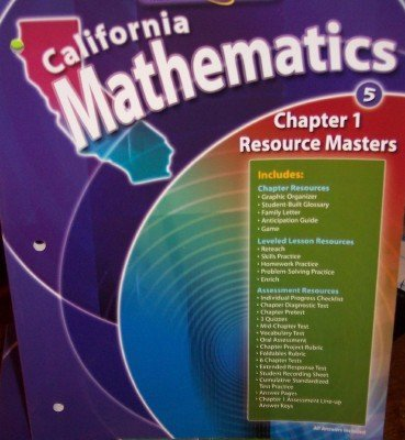 Chapter 1 Resource Masters Grade 5  by  McGraw-Hill Education