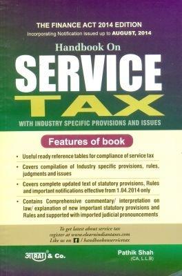 Handbook On Service Tax Pathik Shah