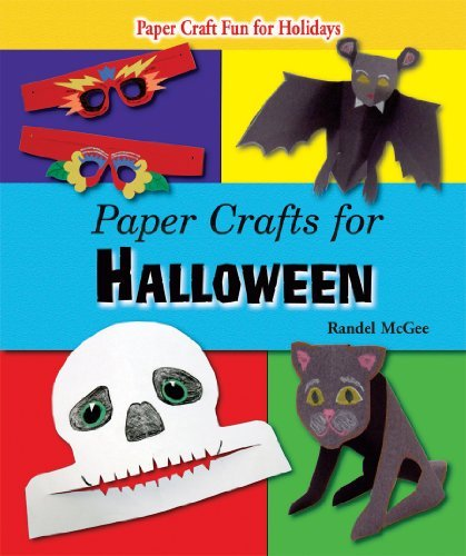 Paper Crafts for Halloween Randel McGee
