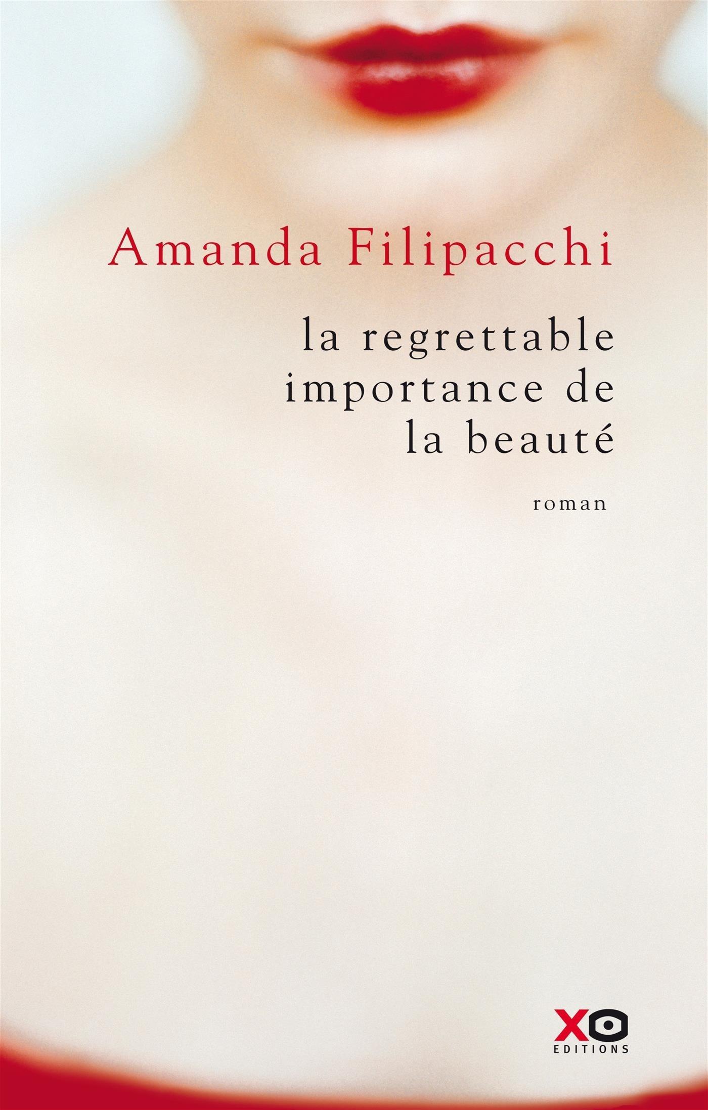 la regrettable importance de la beauté  by  Amanda Filipacchi