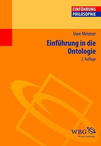 Einführung in die Ontologie  by  Uwe Meixner