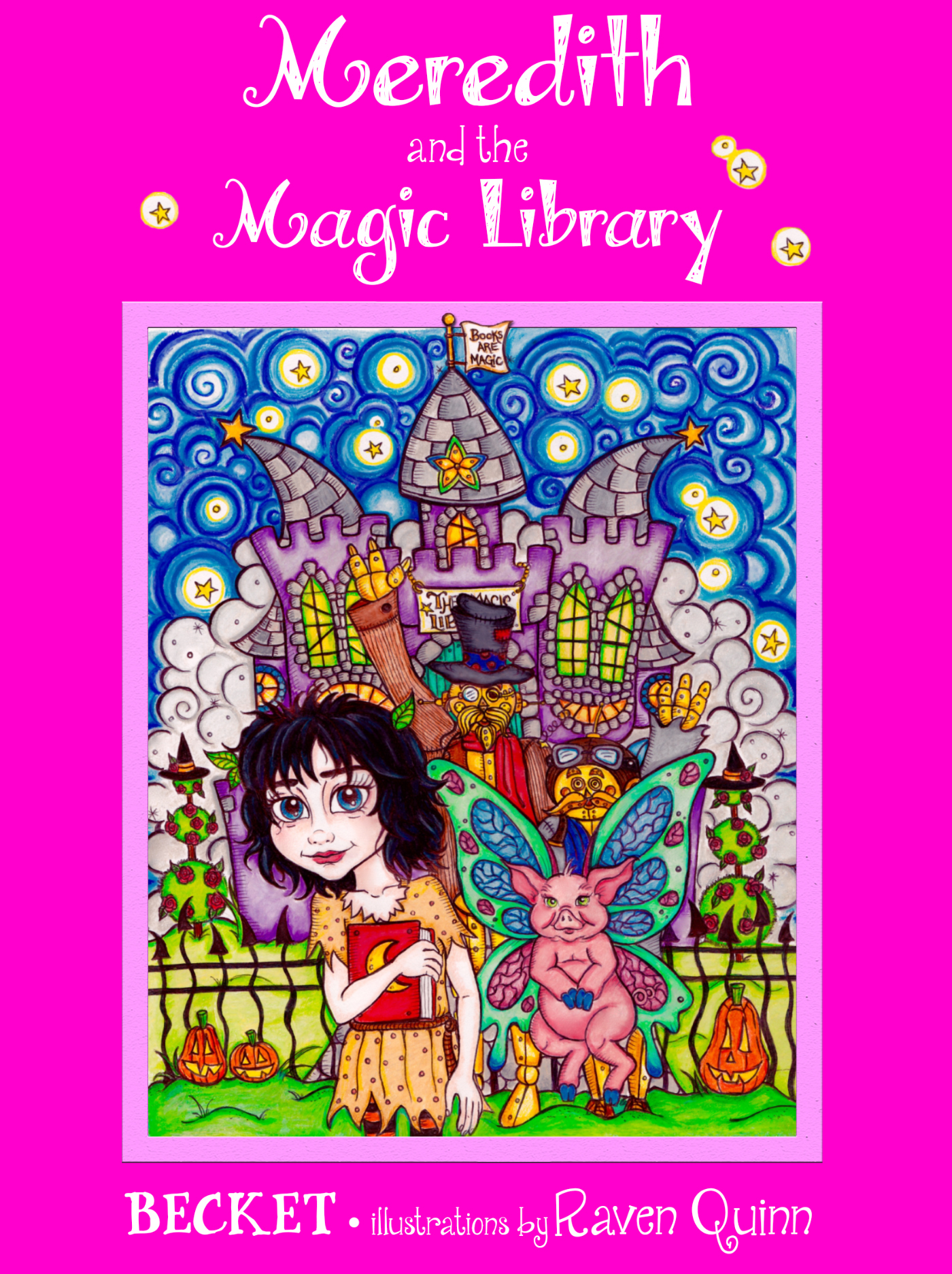 Meredith and the Magic Library (Steampunk Sorcery #5) Becket
