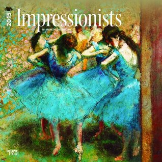 Impressionists 2015 Square 12x12 BrownTrout
