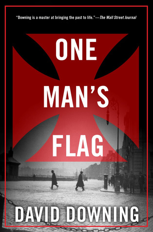 One Mans Flag  by  David Downing