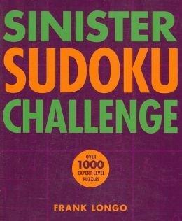 Sinister Sudoku Challence  by  Frank Longo