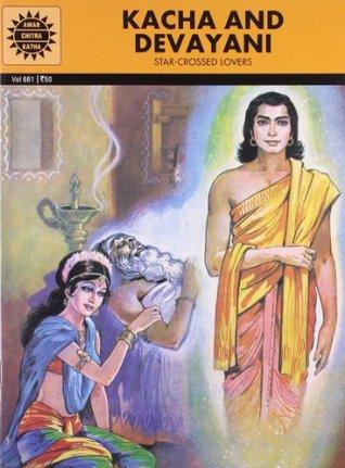 Kacha and Devayani  by  Kamala Chandrakant