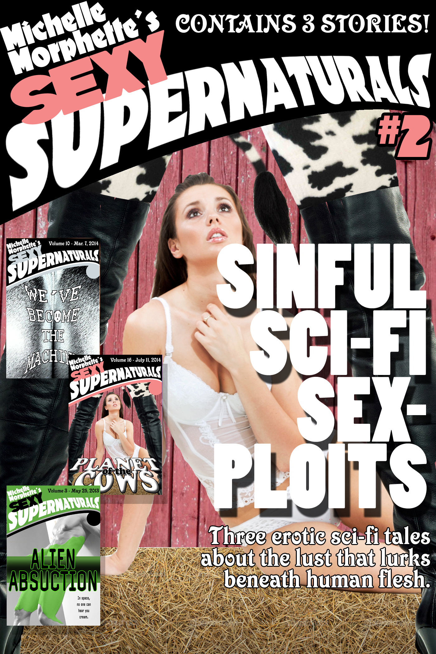 Sinful Sci-Fi Sexploits: Sexy Supernaturals Bundle #2  by  Michelle Morphette