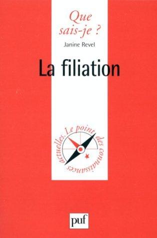 La filiation Janine Revel