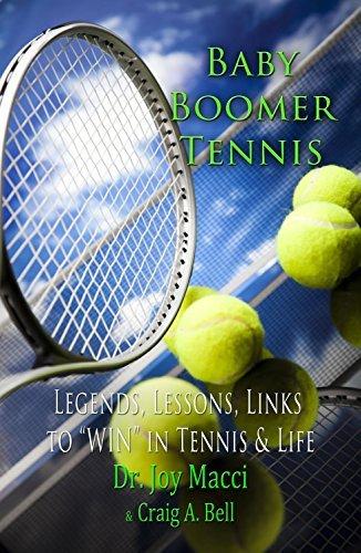 Baby Boomer Tennis  by  Joy Macci