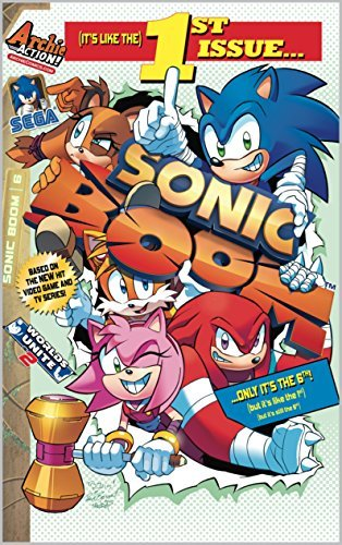 Sonic Boom #6: Everybodys Super Sonic Racing Part One  by  Ian Flynn