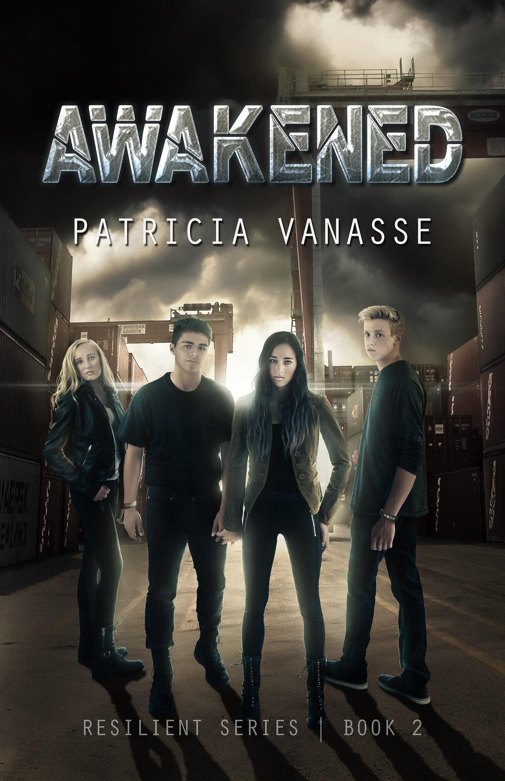 Awakened (Resilient, #2)  by  Patricia Vanasse