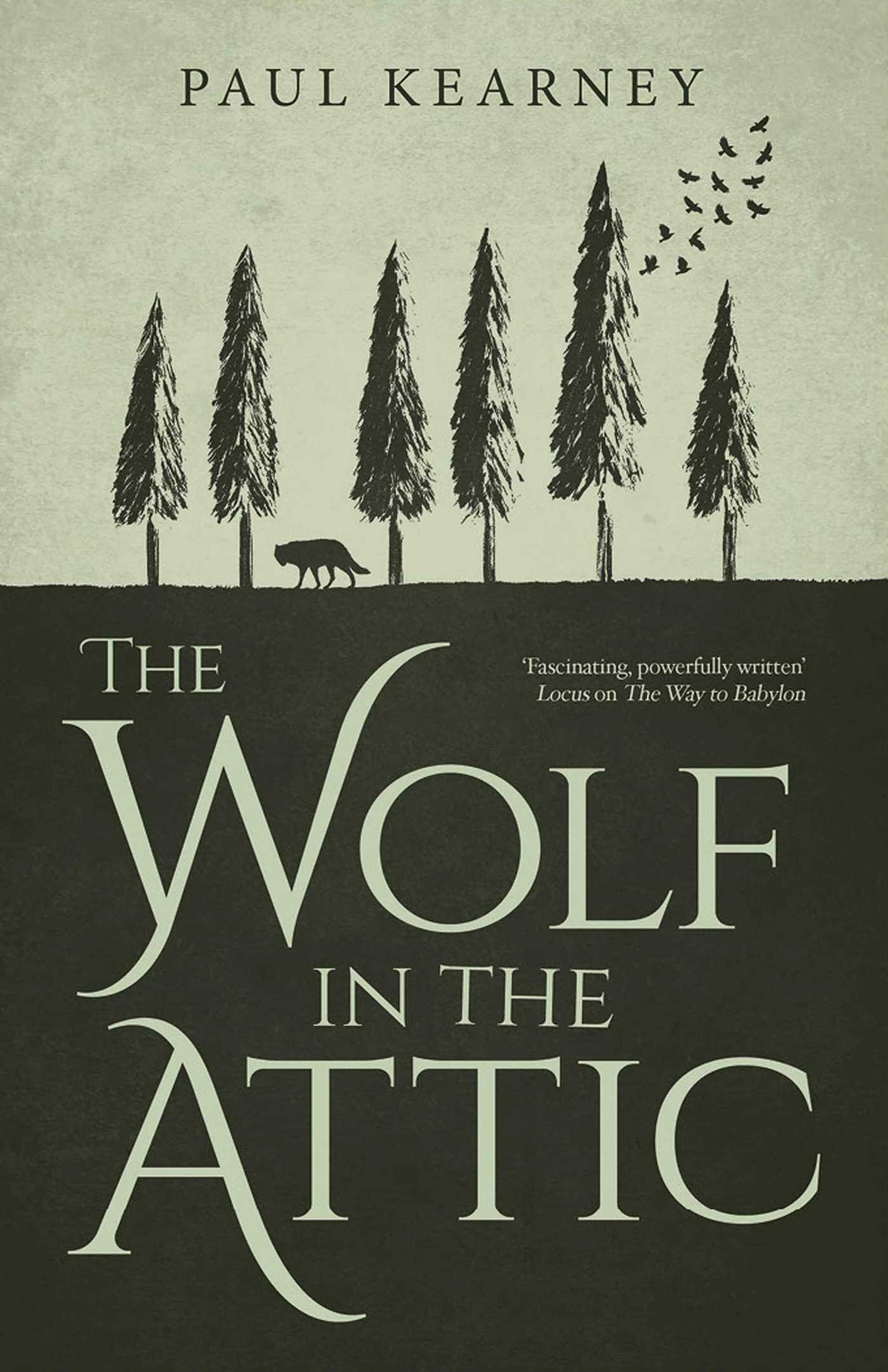 The Wolf in the Attic  by  Paul Kearney