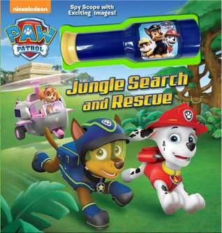 PAW Patrol: Jungle Search and Rescue: Storybook with Spyscope Viewer  by  MacKenzie Buckley