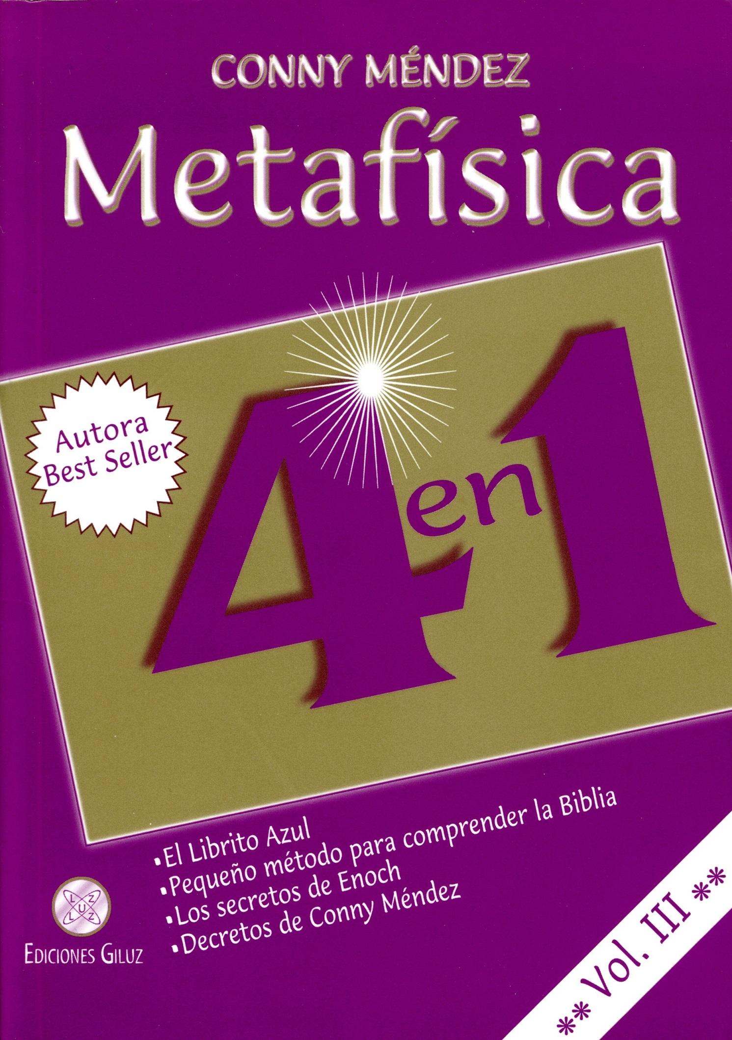 Metafísica 4 en 1 Volumen III Conny Méndez