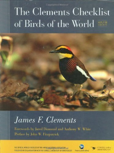 The Clements Checklist of Birds of the World James F. Clements