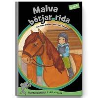 Malva börjar rida Malin Eriksson