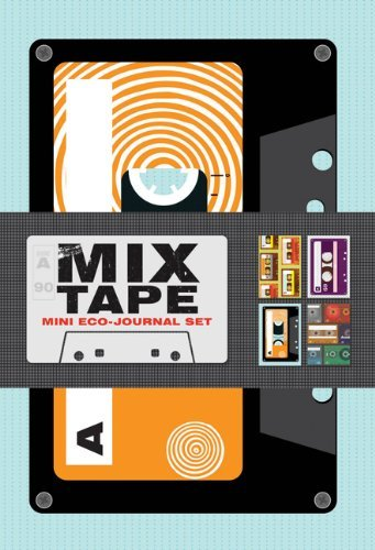 Mix Tapes Mini Eco-Journals  by  Chronicle Books
