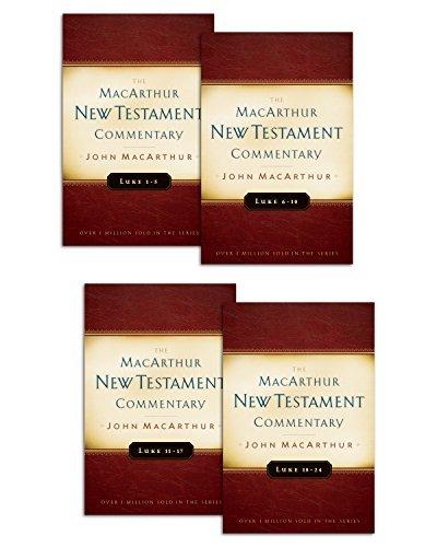 Luke 1-24 MacArthur New Testament Commentary Set John F. MacArthur Jr.