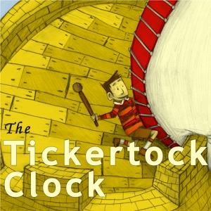 Tickertock Clock  by  Corey Tabor