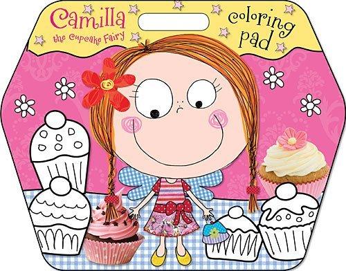 Camilla the Cupcake Fairy Coloring Pad Karen Morrison