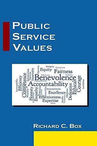 Public Service Values Richard C Box