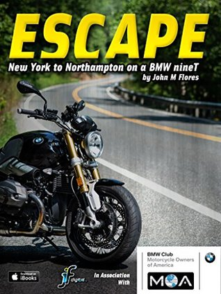 ESCAPE 01: New York to Northampton MA on a BMW R nineT  by  John Flores