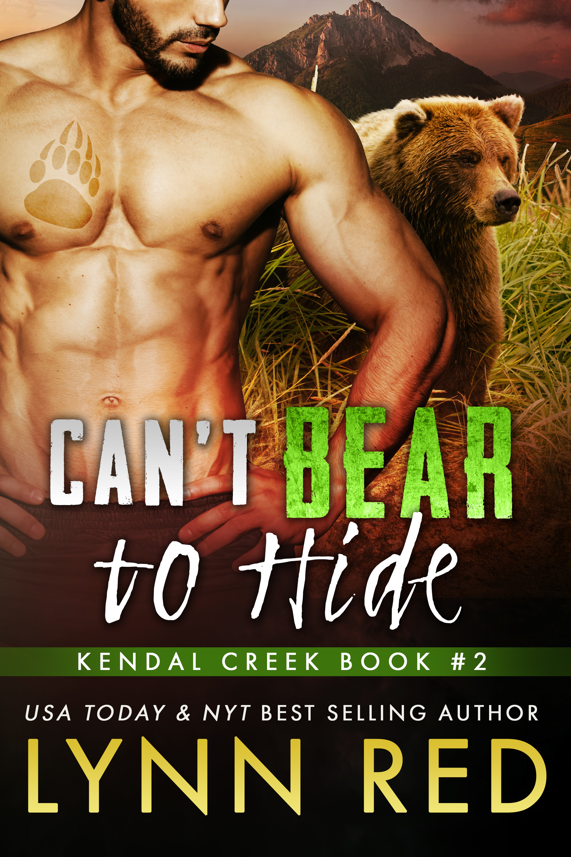 Cant Bear to Hide Lynn Red