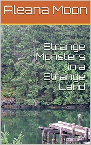 Strange Monsters in a Strange Land: Huge Tentacle Monster Erotica  by  Aleana Moon