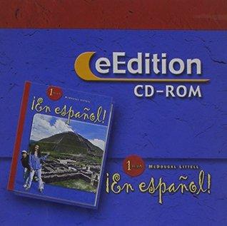 ¡En español!: eEdition CD-ROM Level 1 2004 McDougal Littel