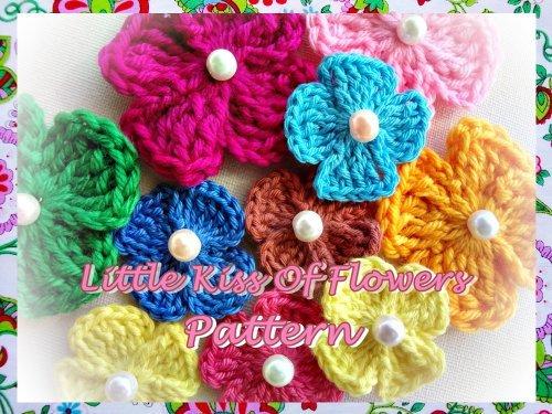 Little Kiss of Flowers Crochet Pattern  by  Wonderful Hands