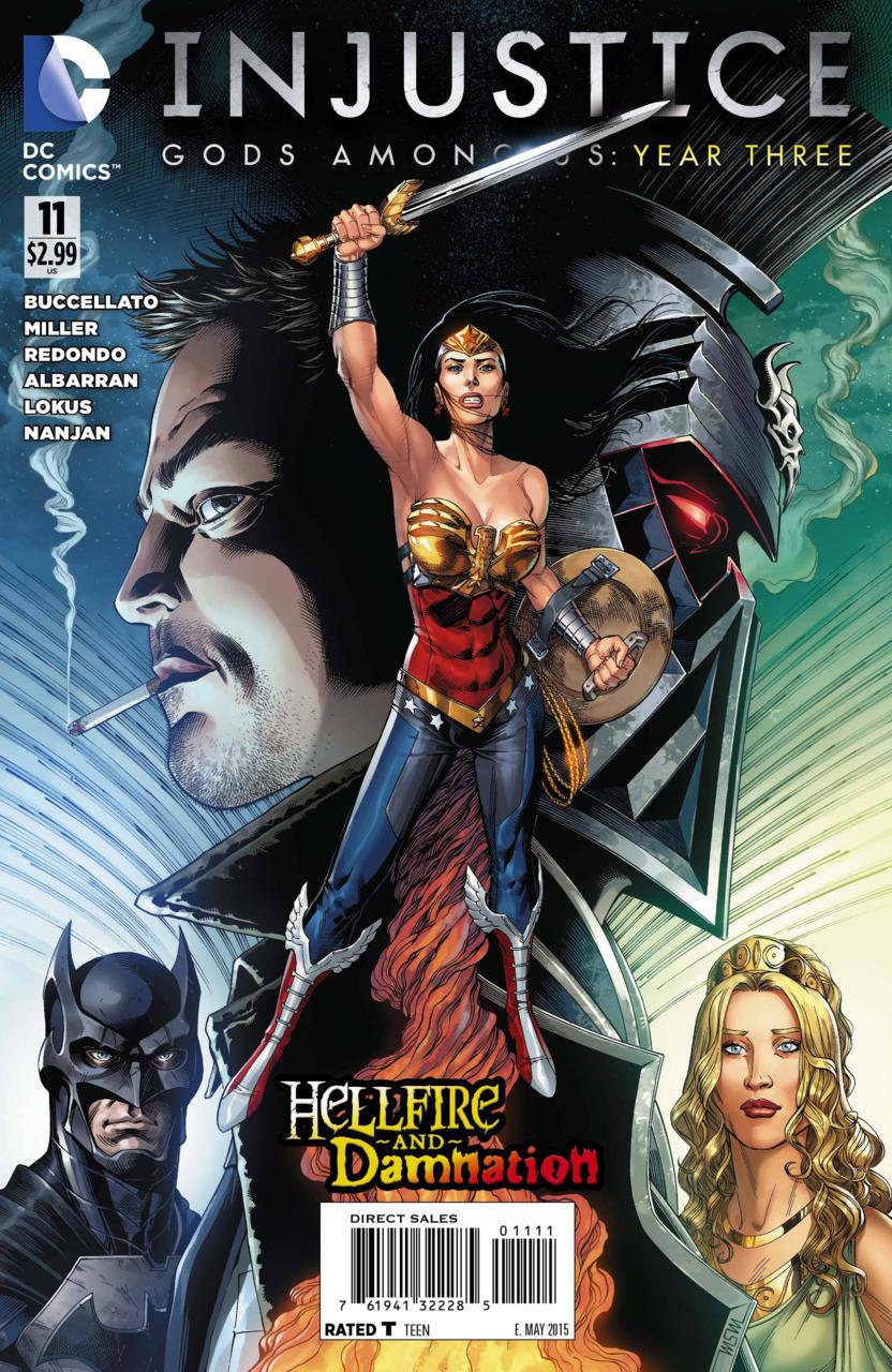 Hellfire and Damnation (Injustice: Gods Among Us: Year Three #11) Brian Buccellato