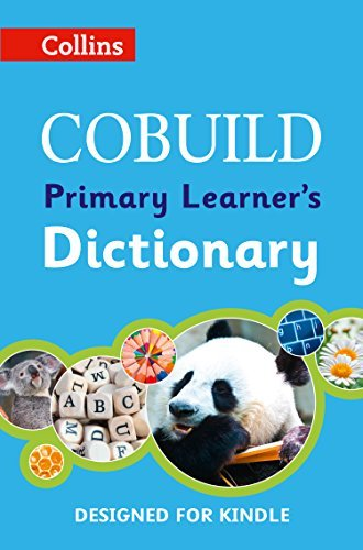 COBUILD Primary Learners Dictionary Collins Cobuild