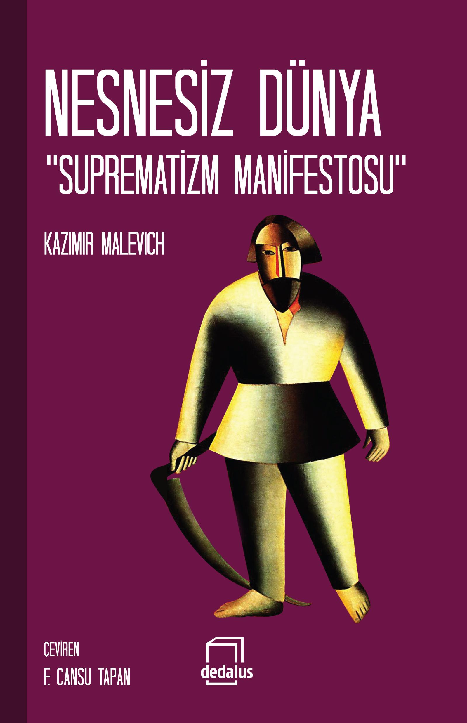 Nesnesiz Dünya Suprematizm Manifestosu Kazimir Malevich