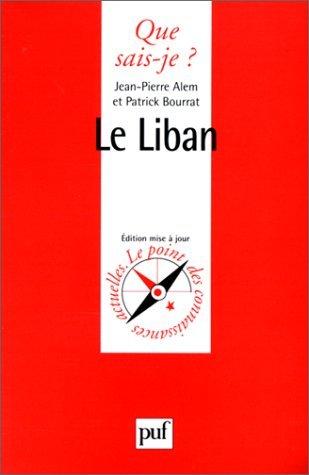 Le Liban  by  Jean-Pierre Alem