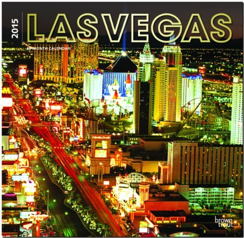 Las Vegas 2015 Wall Calendar  by  BrownTrout Publishers Ltd.