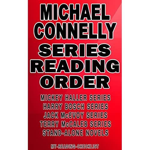 connelly michael order books series