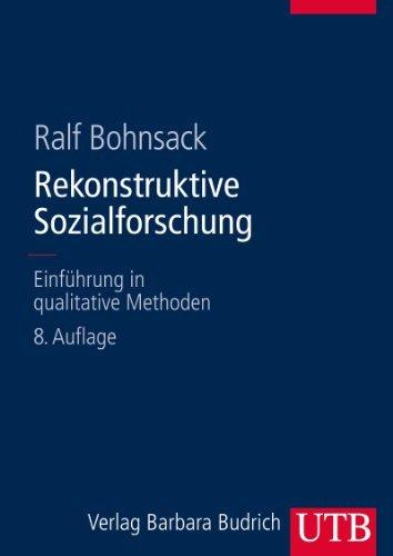 Rekonstruktive Sozialforschung: Einführung in qualitative Methoden  by  Ralf Bohnsack