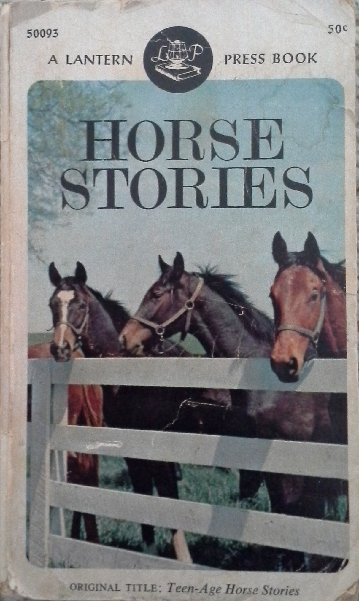 Teen-Age Horse Stories  by  David Thomas