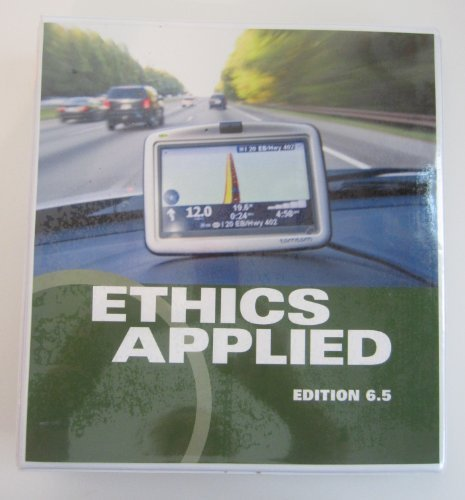 Ethics Applied Edition 6.5 (Edition 6.5)  by  Nicholas Manias, Jane E. Till Keith Goree