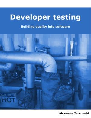 Developer Testing  by  Alexander Tarnowski